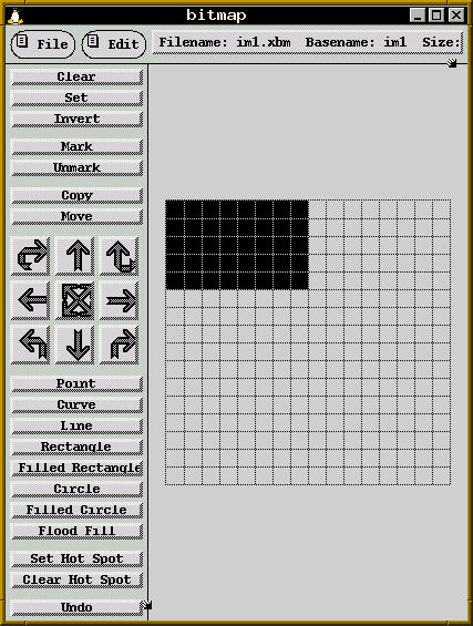 A simple block bitmap